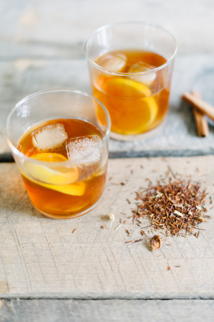 Healthy Holiday Chai Whiskey Cocktail via @simplyrealhealth. From the Simply Real Health Cookbook!