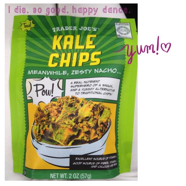 Trader Joe's Kale Chips via Simply Real Health