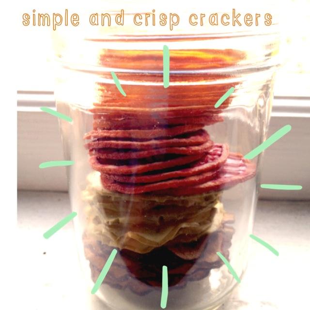 Simple and Crisp Crackers via Simply Real Health [www.simplyrealhealthblog.com]