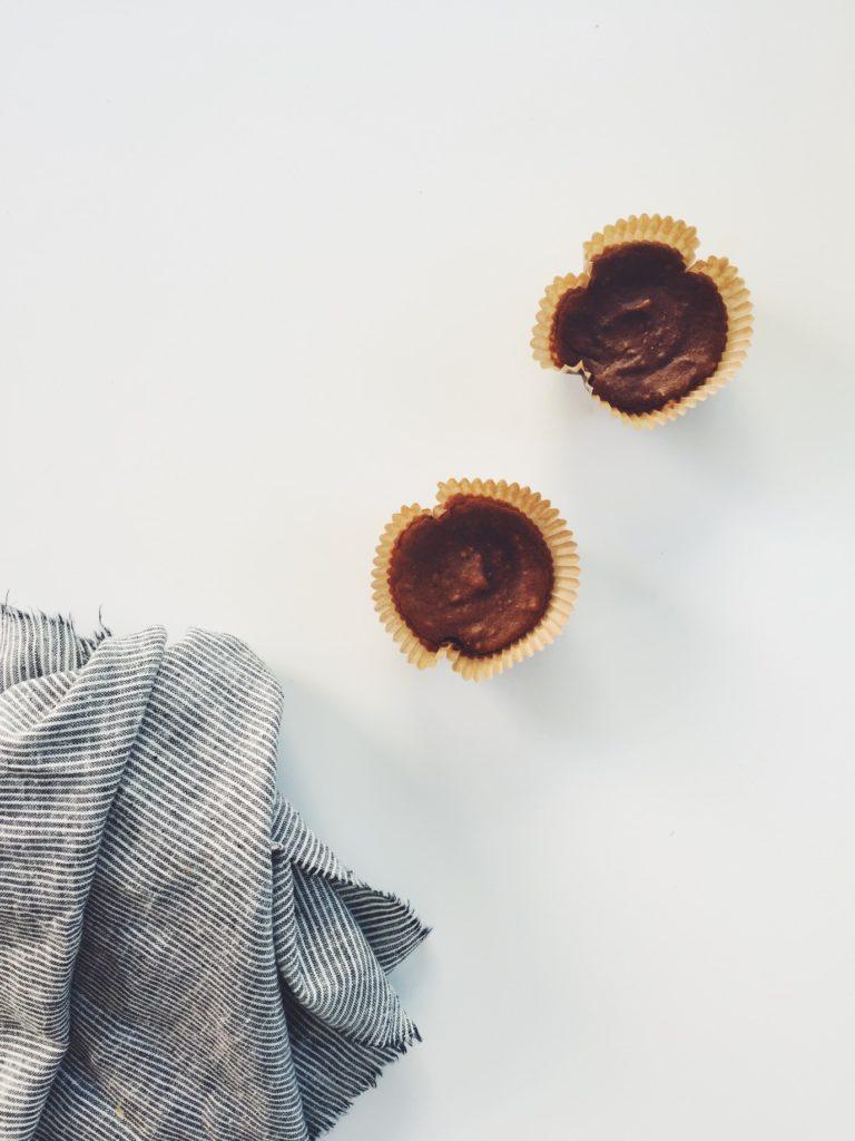 Molten Pumpkin Peanut Butter Cups via @simplyrealhealth. gluten-free & dairy-free too!