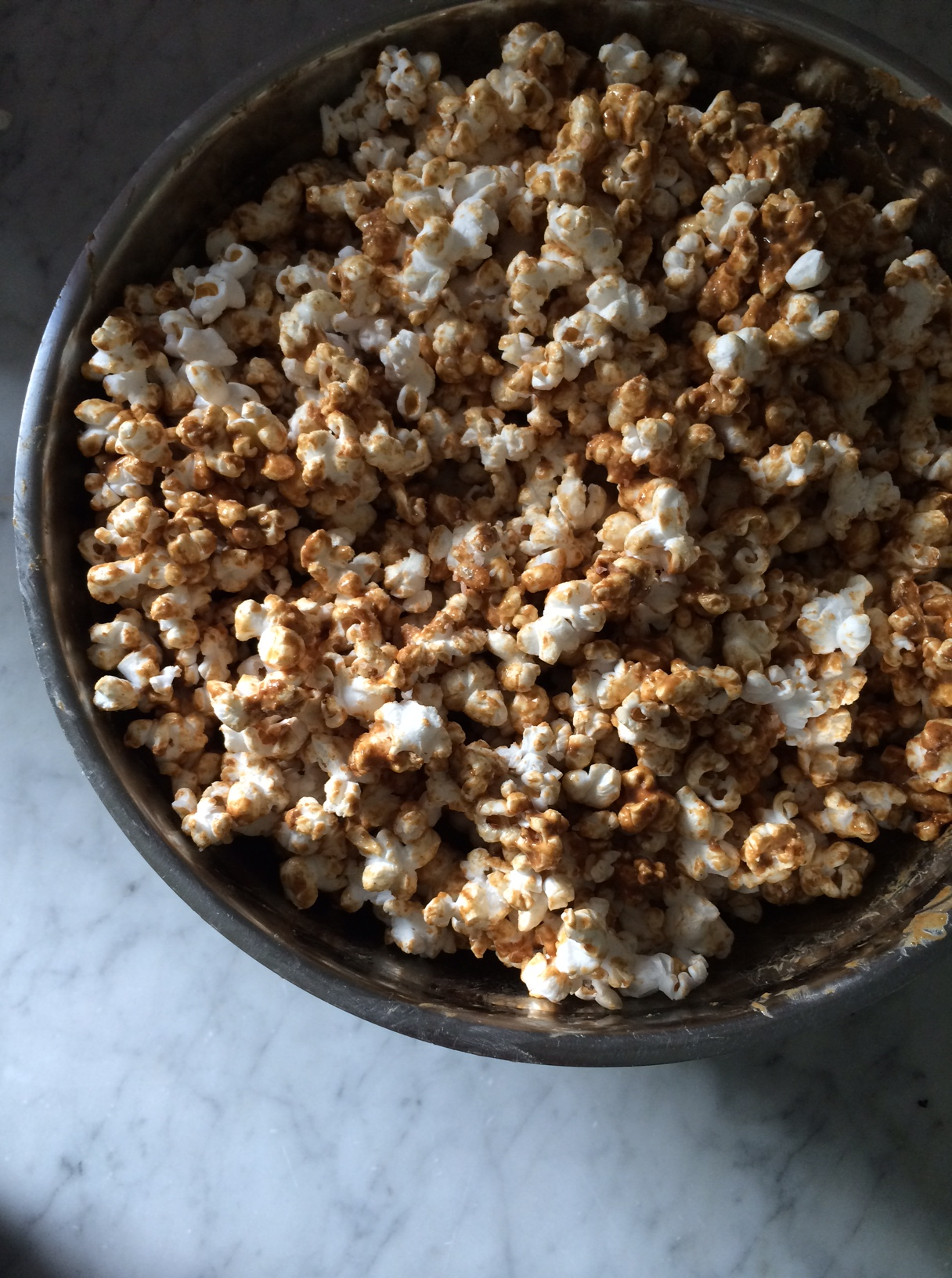 Peanut Butter Popcorn via Simply Real Health