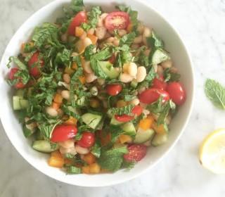 Mint + White Bean Salad