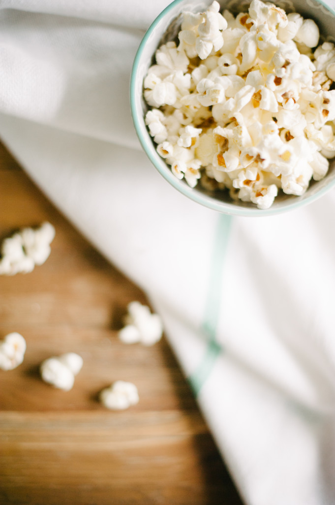 Healthy Kettle Corn via Simply Real Health