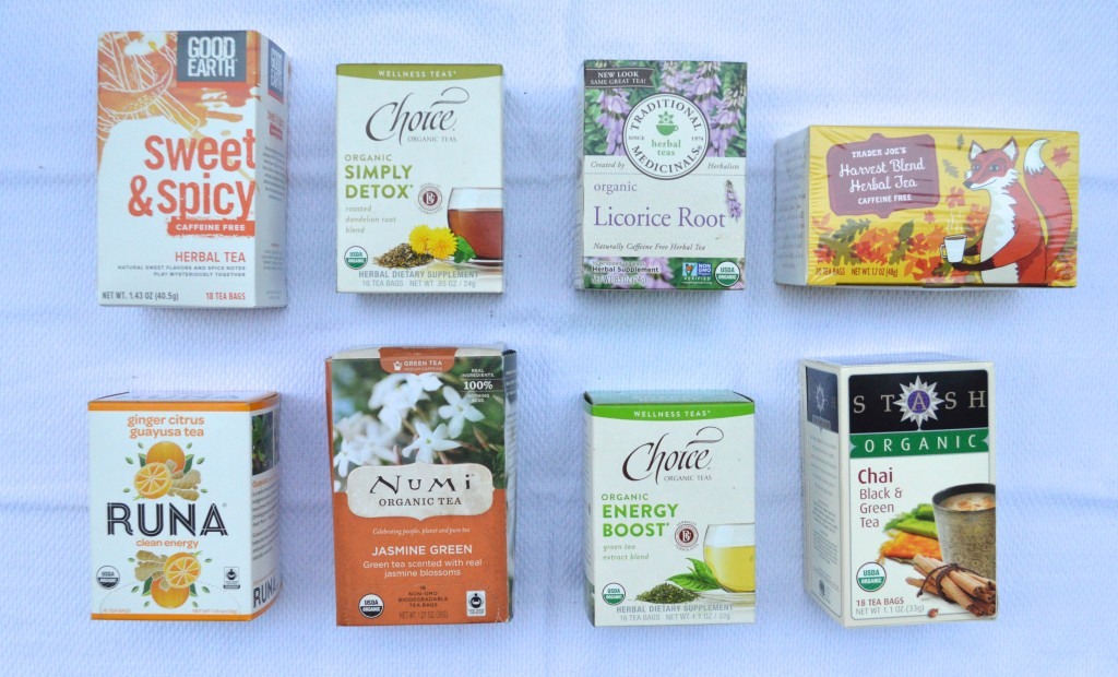 Sarah's Favorite Teas via Simply Real Health