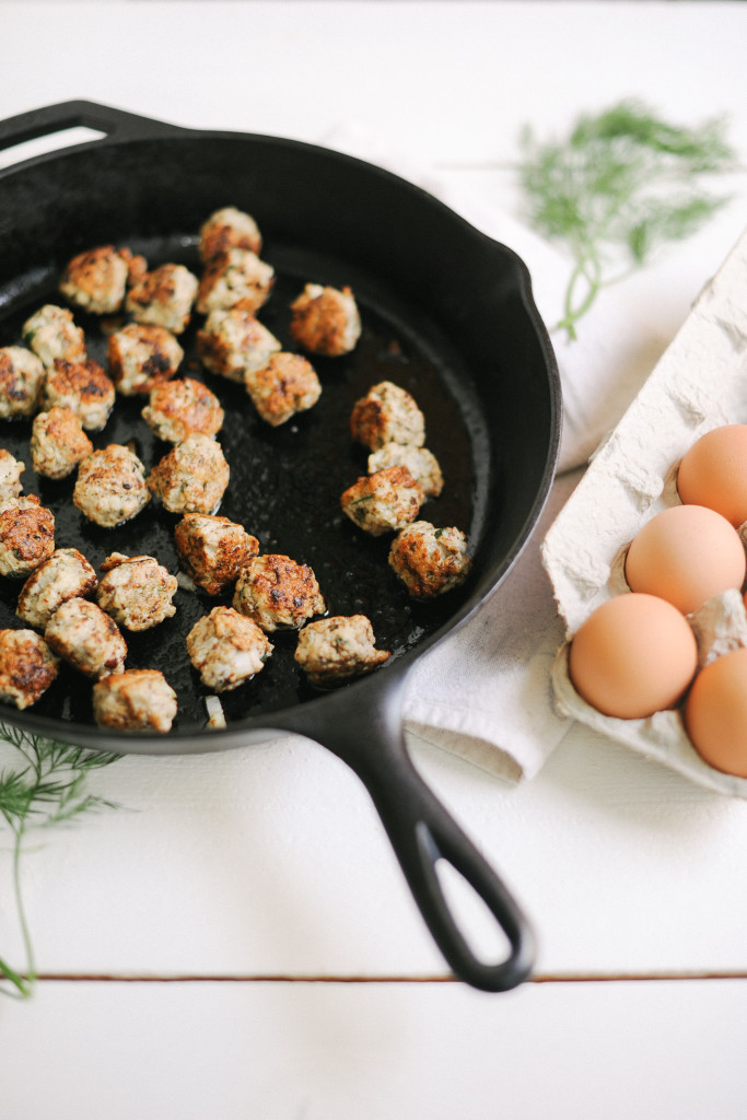Greek Turkey Meatballs from The Simply Real Health Cookbook