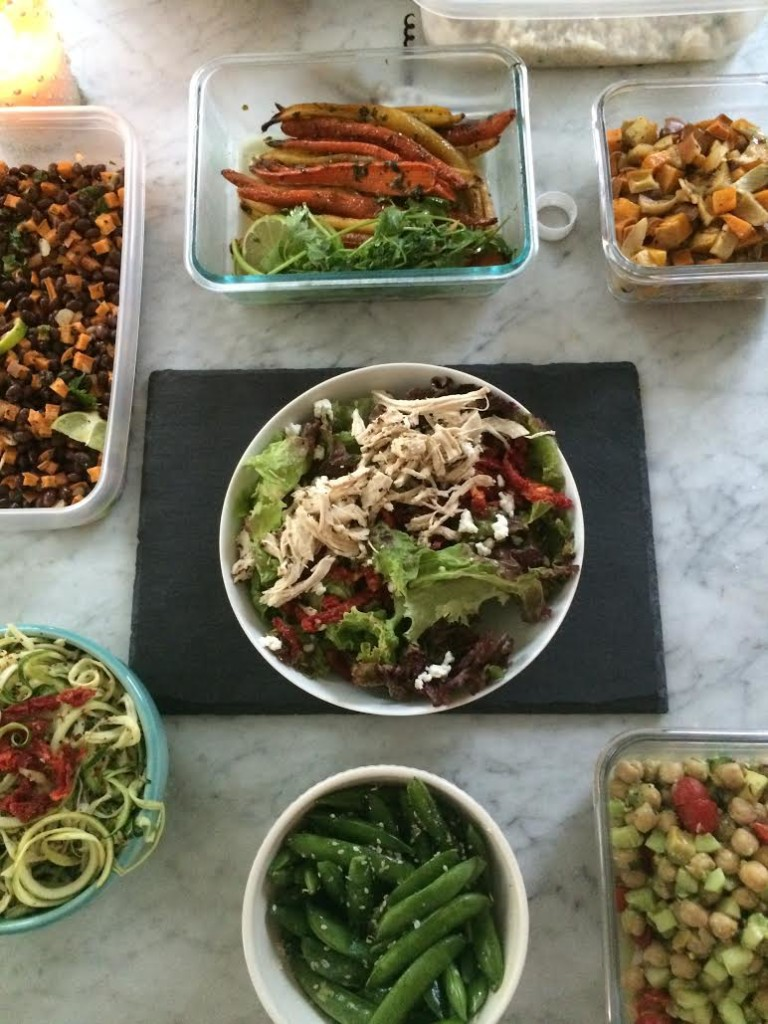 a dinner party, Simply Real Health style