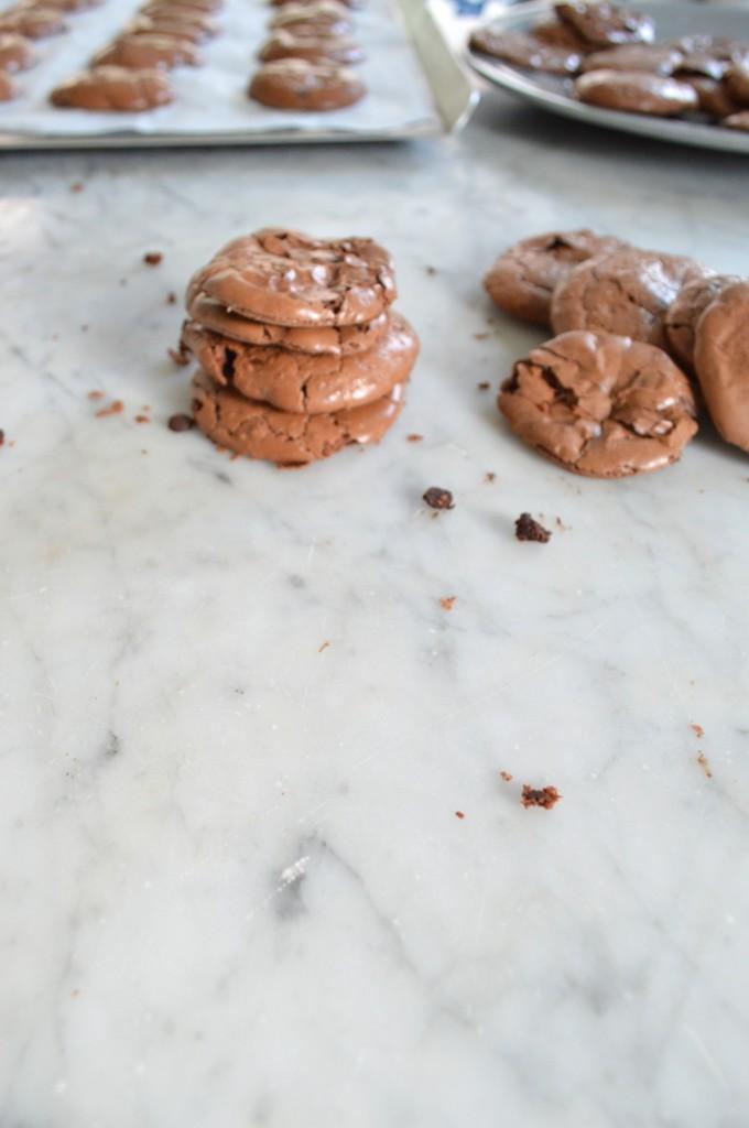 GF Chocolate Crinkle Cookies via Simply Real Health