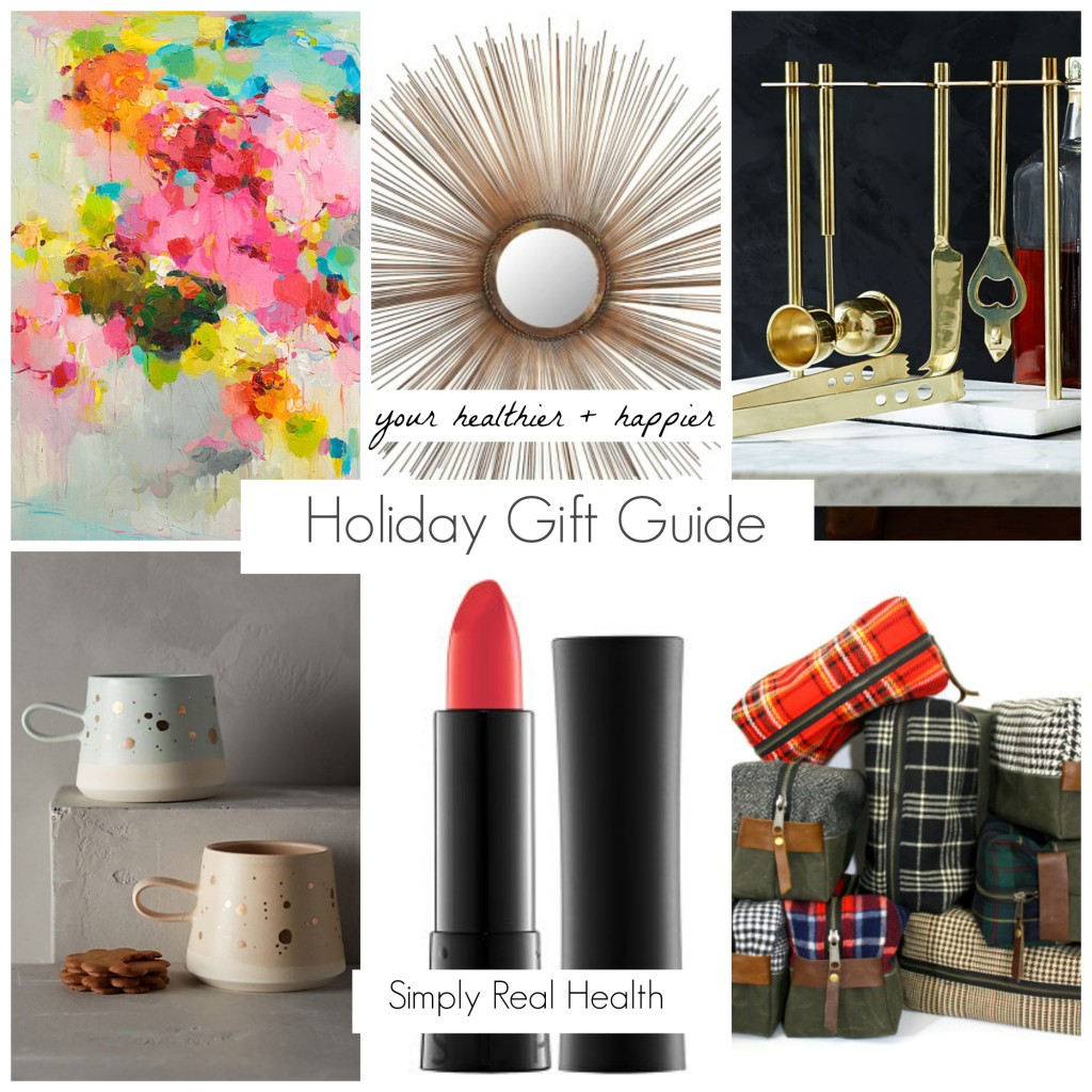 Healthy Holiday Gift Guide // My Favorite Things via Simply Real Health