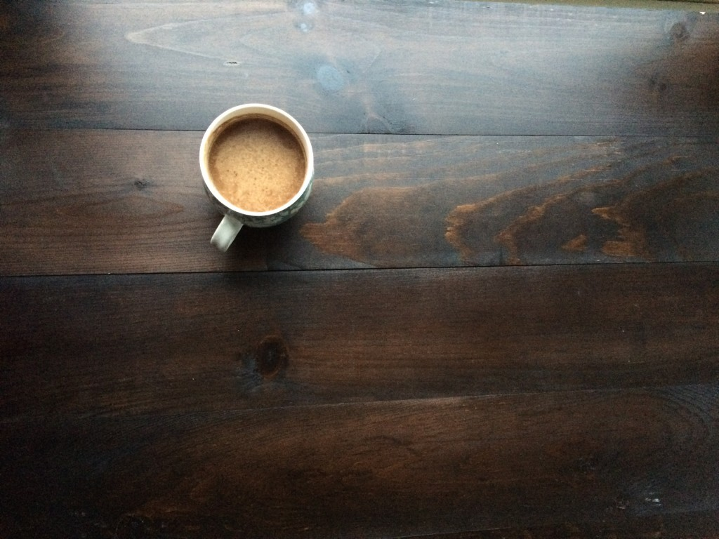 Frothy Coconut Coffee: upgrade your coffee routine. This frothy version tastes amazing and is will give you longer, more sustained energy. via www.simplyrealhealth.com