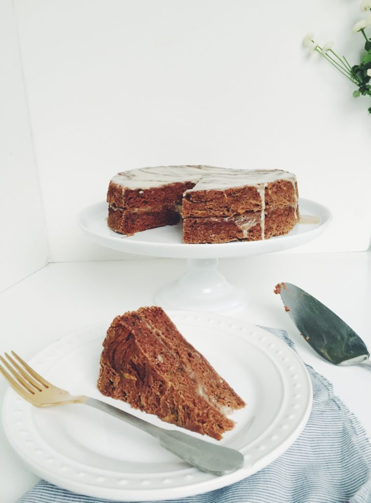I made you this cake (gluten free carrot zucchini cake). Go for it. a post via @simplyrealhealth