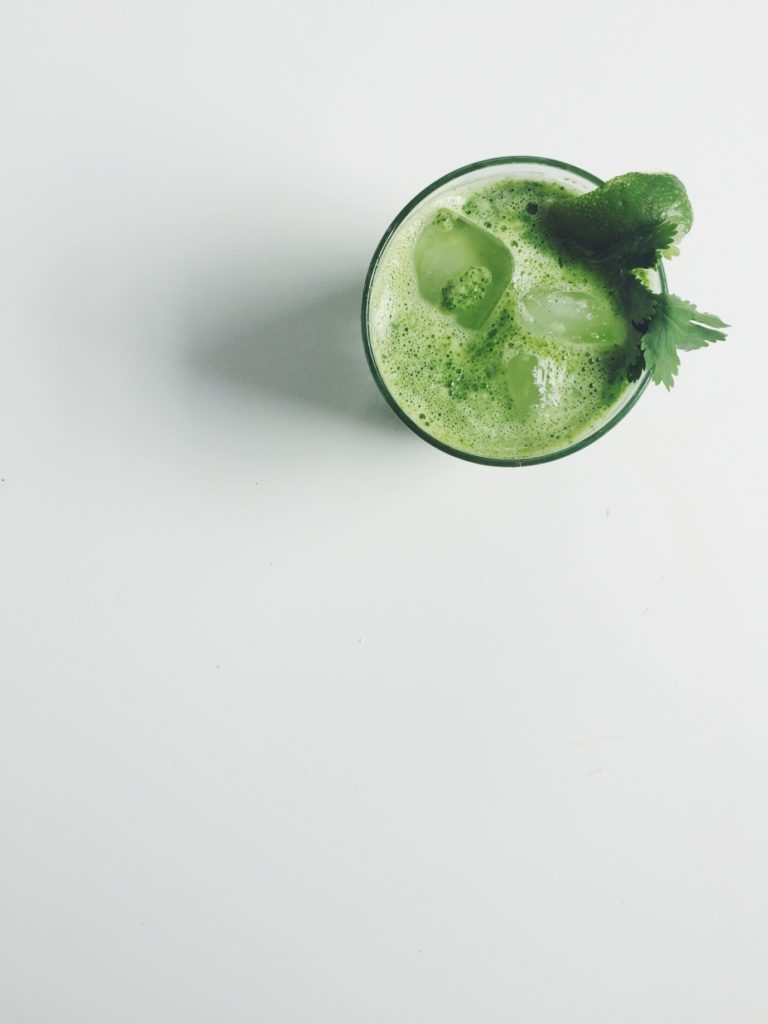 Spicy Cilantro Limeade (a fancy lady cocktail/mocktail) via @simplyrealhealth