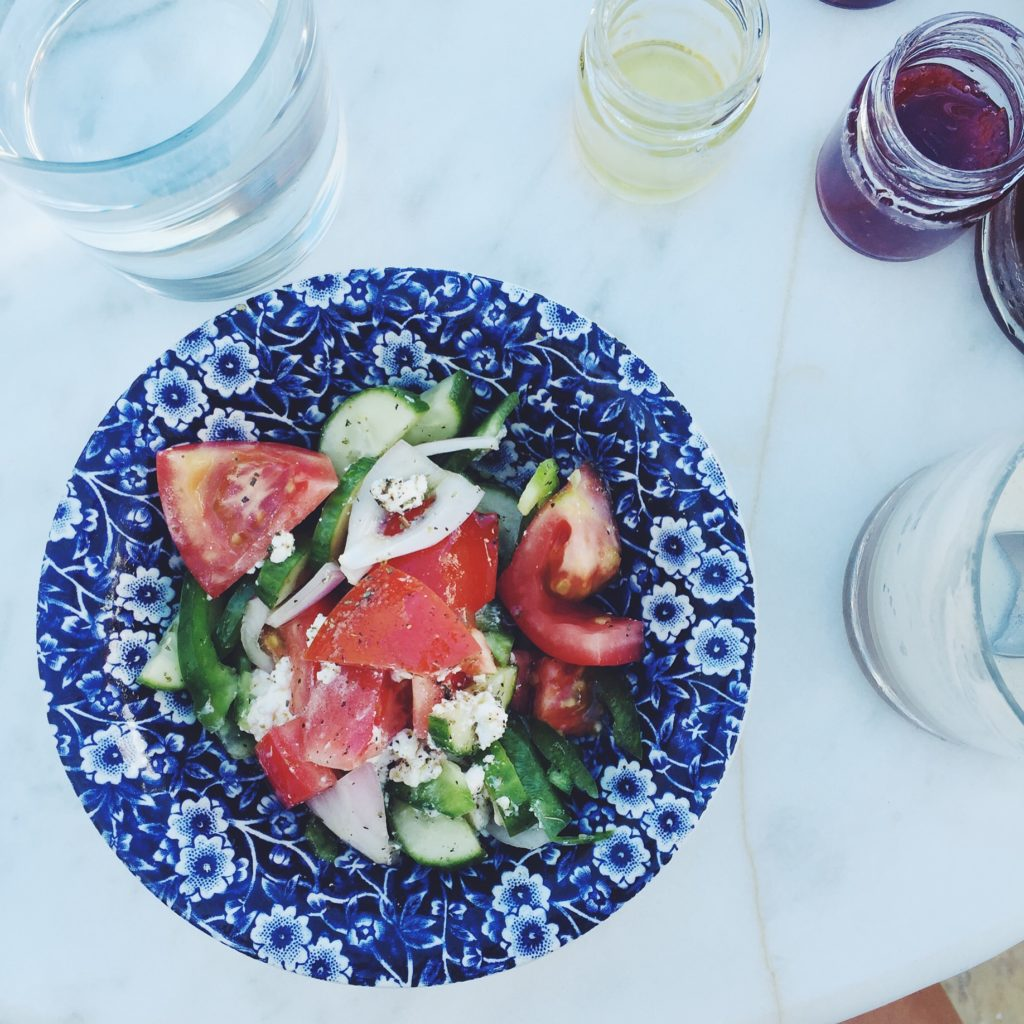 (Real) Greek Salad (the best recipe) via @simplyrealhealth