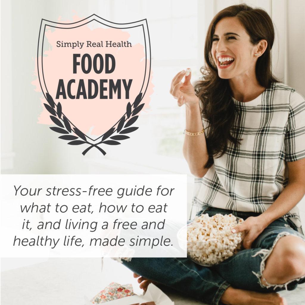 SRH Food Academy via @simplyrealhealth.com