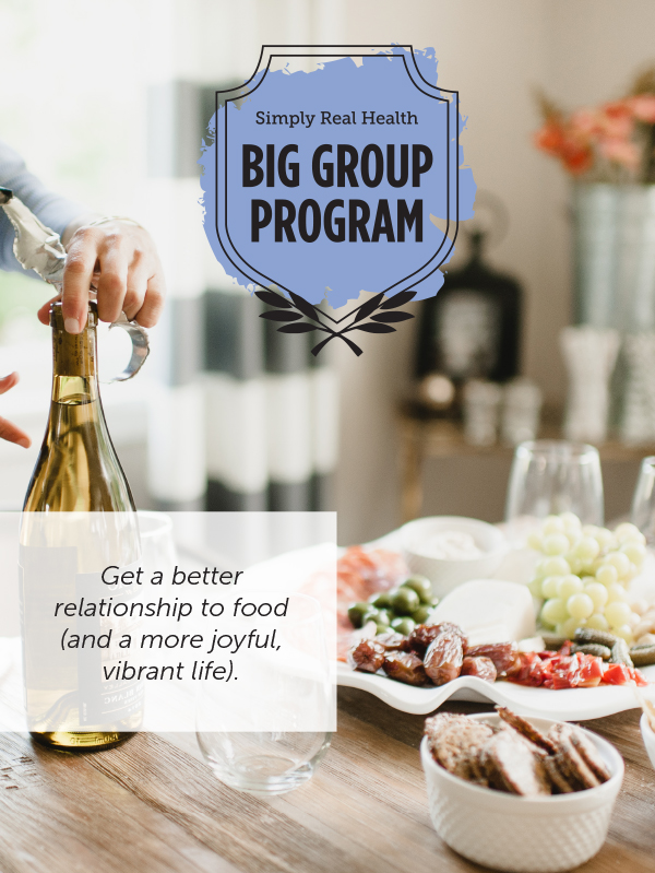 The Big Group Program via @simplyrealhealth