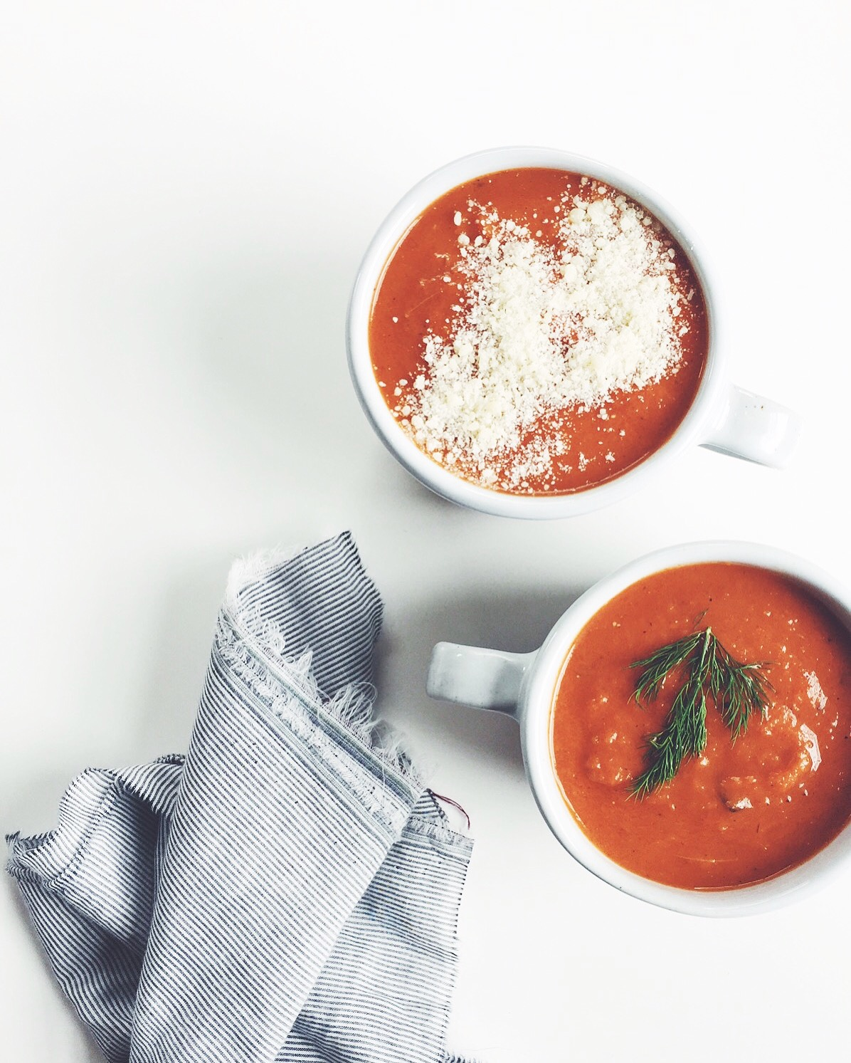 Easy Tomato-Carrot Soup via @simplyrealhealth. So quick and easy, gluten-free too!